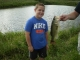 8 year old Kale Bollinger caught this BIG BASS!!