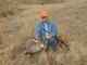Dennis Revis with his Mule Deer in  South Dakota 2007